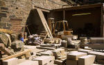 Clark Stonemasons  -  West Short Road, Granton, Edinburgh  -  Outside  -  1995  -  The Stone Yard  -  1995