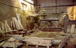 Clark Stonemasons  -  West Short Road, Granton, Edinburgh  -  Inside  -  1995