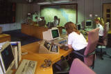 Control Centre at Tollcross Fire Station  -  22 June 1993