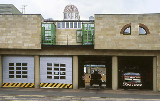 Tollcross Fire Station  -  26 July 1994