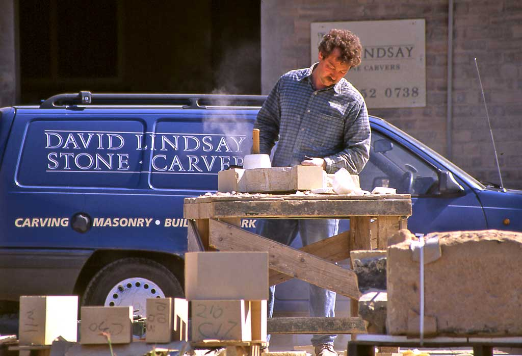 David Lindsay, Stonemasons  -  West Shore Road, Edinburgh  -  1992
