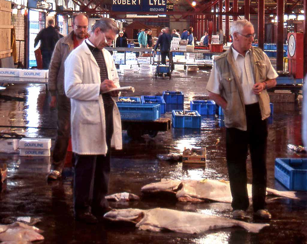 Edinburgh at Work  -  Newhaven Fishmarket