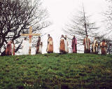 The Easter Play in West Princes Street Gardens  -  26 March 2005  -  The Resurrection
