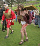 Easter Play  -  Princes Street Gardens, Edinburgh  -  Approaching Cavalry  -  April 2006