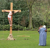 Easter Play  -  Princes Street Gardens, Edinburgh  -  The Crucifixiion  -  April 2006