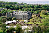 Photograph by Peter Stubbs  -  Edinburgh  -  May 2002  -  The Queen's Garden Party at Holyrood Palace