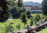 Photograph by Peter Stubbs  -  Edinburgh  -  August 2002  -  East Princes Street Gardens