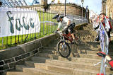 Urban Downhill Cycling Event  -  Edinburgh -  October 6, 2007