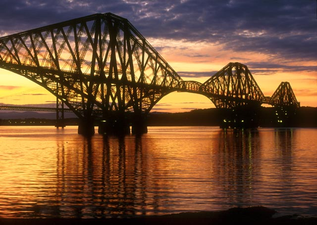 Photographs by Peter Stubbs - Forth Rail Bridge