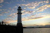 Clouds over Newhaven in the Firth of Forth  -  September 2005