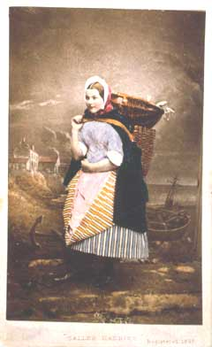 Carte de Visite  -  Newhaven Fishwife  -  Photographer: John Ross