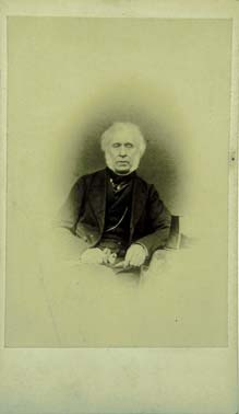 Carte de Visite  -  Sir David Brewster  -  President of PSS