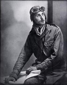 ER Yerbury, The Sky Pilot, photographed by his father, ER Yerbury