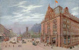 The Caledonian Railway Hotel and Princes Street Station