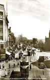 Postcard by an unidentified publisher  -  Princes Street, West End