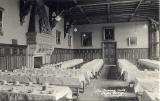 Postcard by an unidentified publisher   -  Fettes College  - The Dining Hall