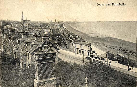 Postcard of Joppa and Portobello  -  Publisher not known