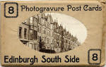 Pack of Postcards by an unidentified publisher  -  Lauderdale Street