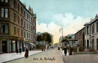 Portobello Bath Street  -  Post Card  -  Series No.4140