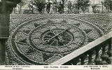 Postcard by an unidentified publisher  -  The Floral Clock in Princes Street Gardens