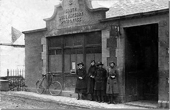 Four Ladies outside South Queensferry Post Office