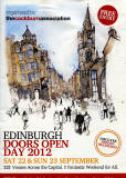 Cover of the brochure for Doors Open Day, 2012