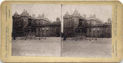 Stereoscopic Views  -  Albemable Series  -  Holyrood Palace