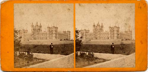 Stereo View of Donaldson's Hospital, Edinburgh  -  by Andrew Duthie, Glasgow