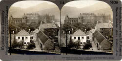 Stereo View of Holyrood Abbey and Palace by Keystone View Company