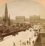 Stereo view by Kilburn  -  Waverley Bridge
