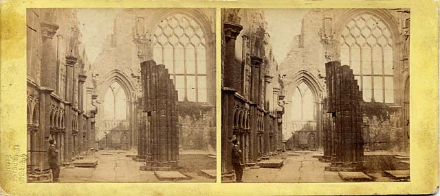 Stereo View of Holyrood Chapel