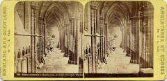 Stereo view by L L, Paris  -  Holyrood Abbey