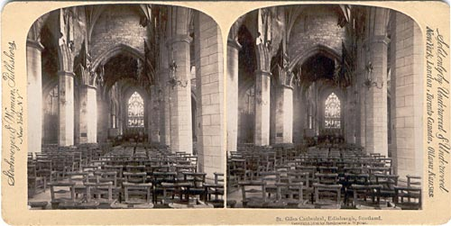 Strohmeyer & Wyman  -  St Giles Church  -  inside
