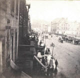 Enlargement of a GW Wilson stereo card - Princes Street  -  An instantaneous view taken in 1859