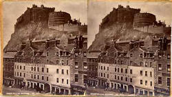 Stereo View by George Washington Wilson - The Grassmarket