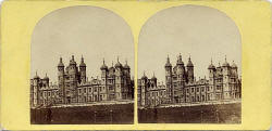 A stereo view by an unidentified photographer  -  Donaldson's Hospital