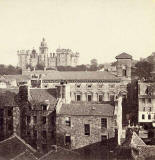 Enlargement of a stereo view by an unidentified photographer  -  Heriot's Hospital
