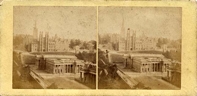 A stereo view by an unidentified photographer  -  National Galleries and Free Church of Scotland Offices