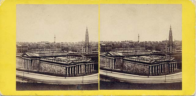 A stereo view by an unidentified photographer  -  National Gallery