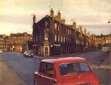 East Thomas Street from Brunswick Road, 1974