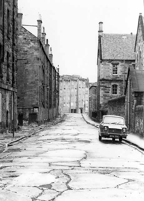 Davie Street, Dumbiedykes, around 1963