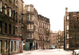Fort Place and Hamilton Crescent, Leith, 1978
