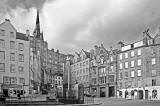 Looking up West Bow towards Victoria Street from the East End of the Grassmarket