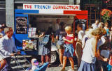 Snack Van in the Grassmarket  -  'The French Connection'  -  photographed 1995
