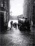 Dumbiedykes Survey Photograph - 1959  -  Clearing the Drains