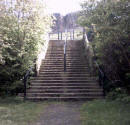 Dumbiedykes  -  Steps leading from Heriot Mount to Salisbury Crags in Holyrood Park
