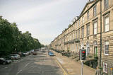 View to the west along Heriot Row from Dundas Street  -  August 2007