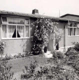 Prefab at 4 Hyvot Terrace, Gilmerton  -  photo taken 1961