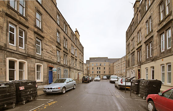 Jameson Street, off Leith Walk  -  March 2013