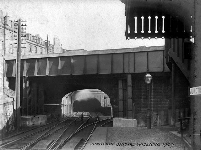 Junction Road Station -  1909